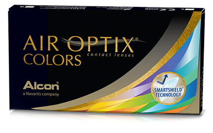 AIR OPTIX® COLORS contact lenses'