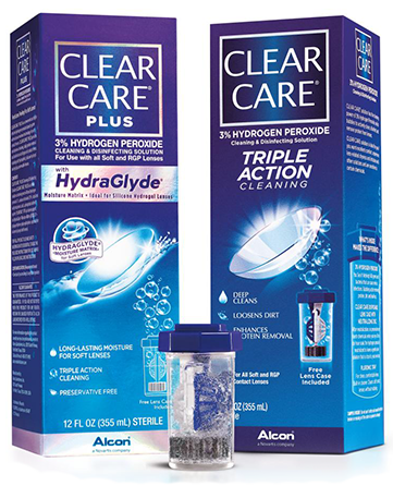 Clear Care® Cleaning and Disinfecting Solution